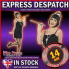 FANCY DRESS ACCESSORY # LADIES 1920s INSTANT CHARLESTON FLAPPER DRESS UP KIT